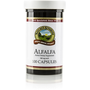 Alfalfa (100 caps) (340 mg)