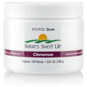 Xylitol Cinnamon Gum