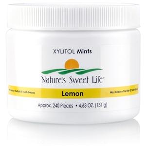 Xylitol Lemon Mints