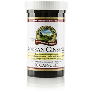 Ginseng, Korean (410 mg)